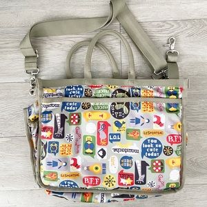 Lesportsac diaper bag with changing mat